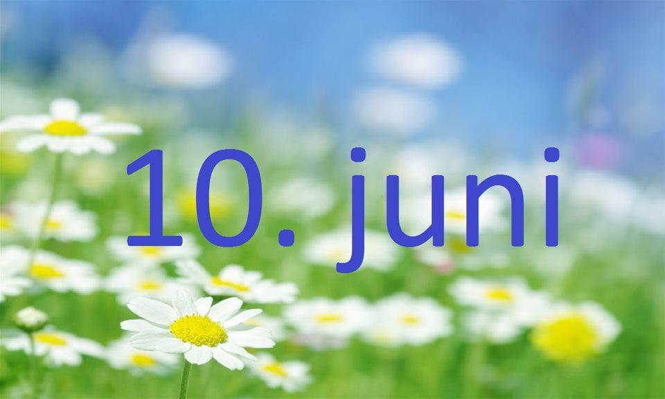 10 Juni